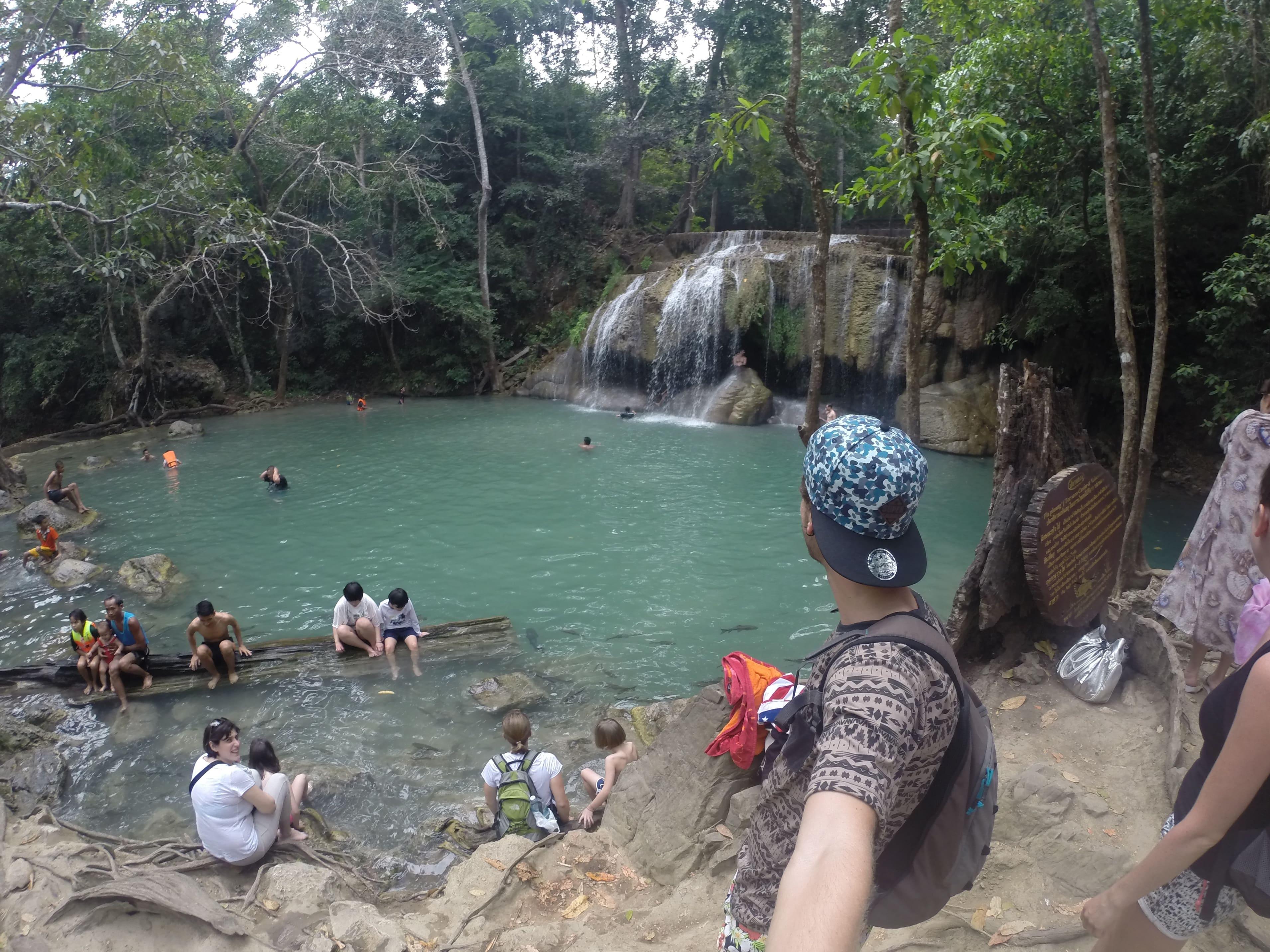 Cascadas de Erawan, en Kanchanaburi