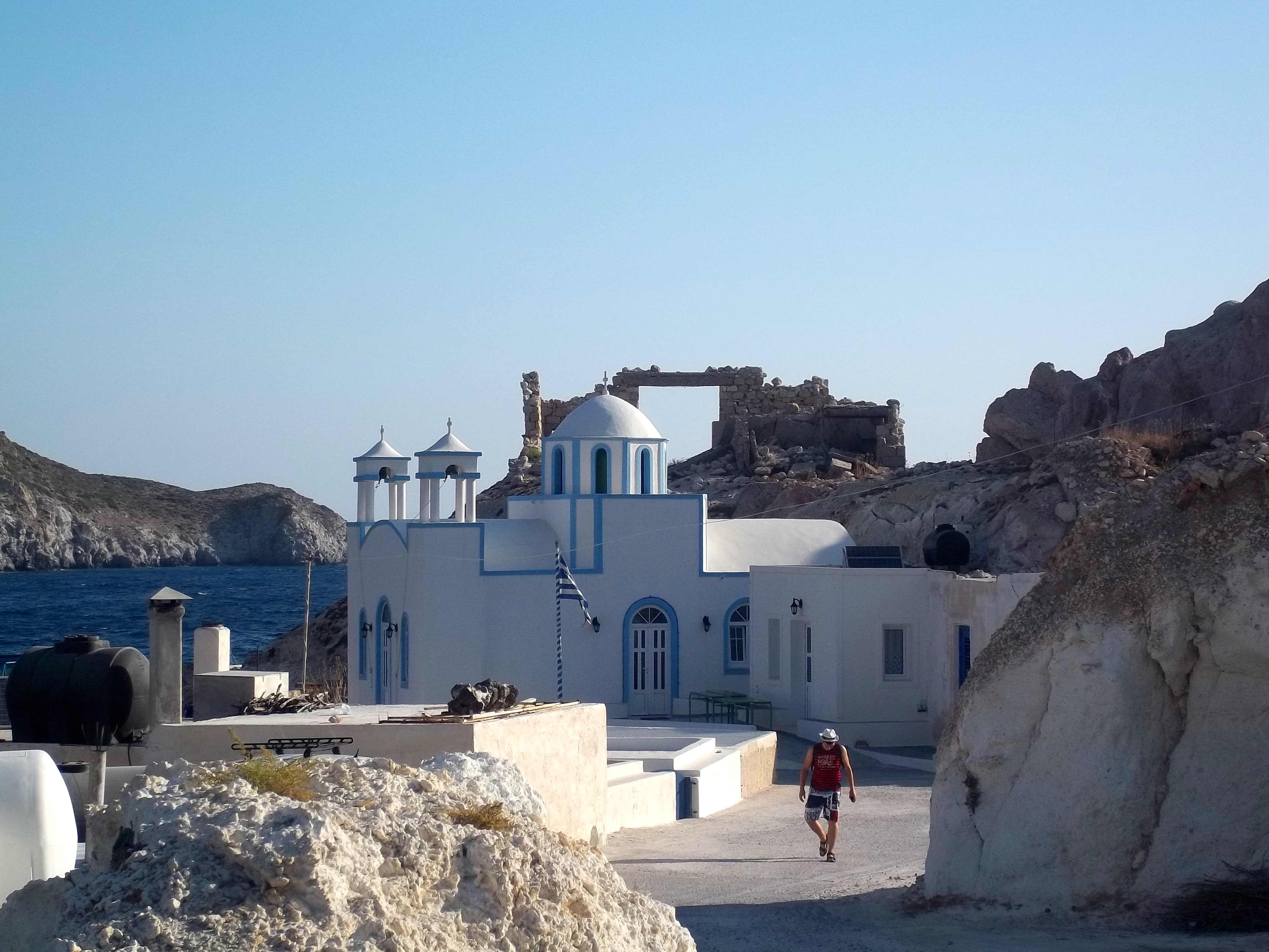 Firopotamos, qué ver en Milos