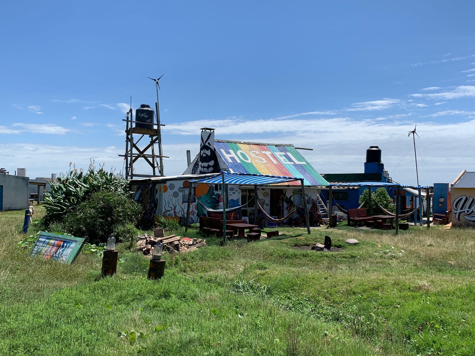Alojamiento en Cabo Polonio