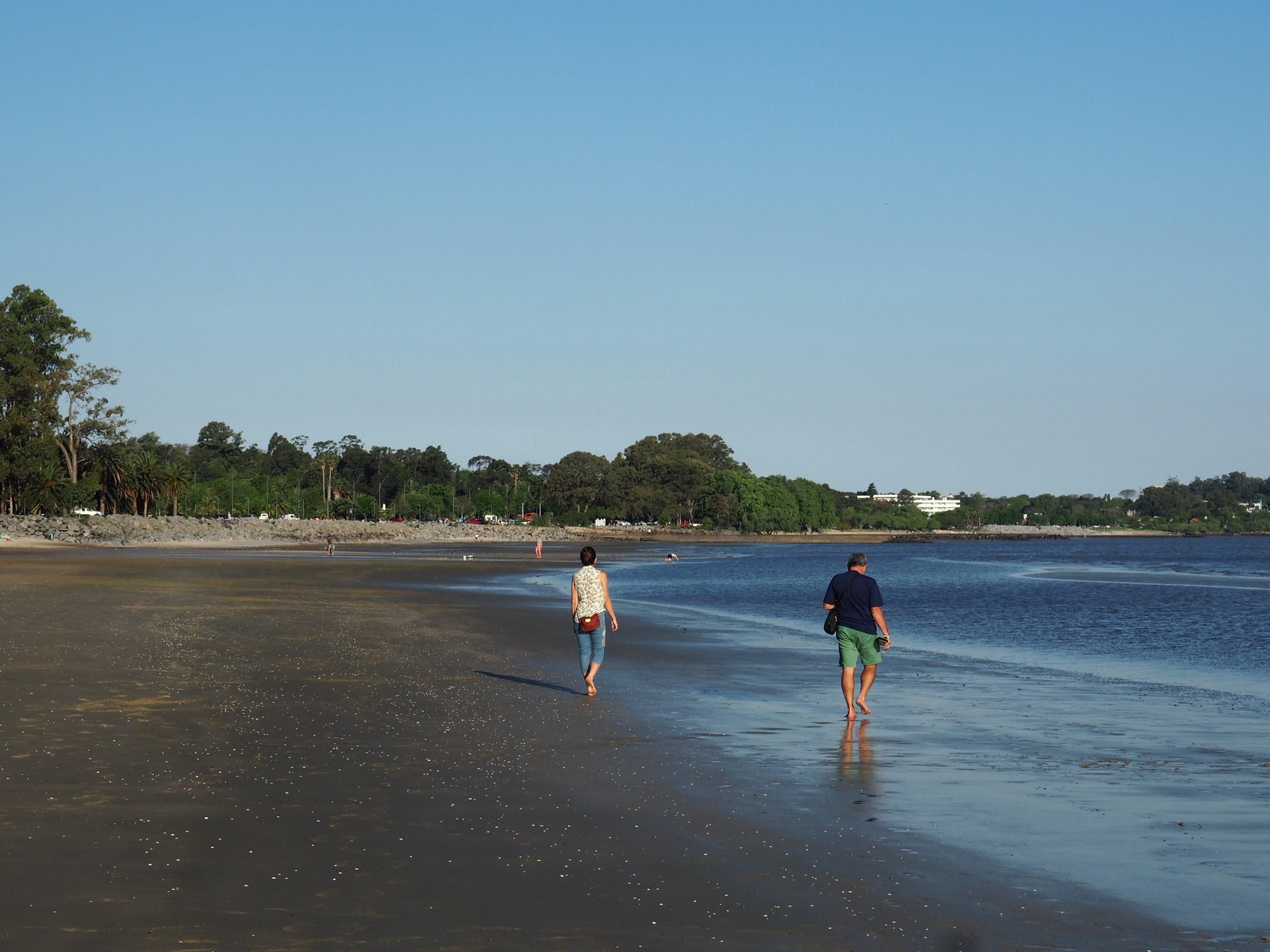 Playas de Colonia del Sacramento (Uruguay)
