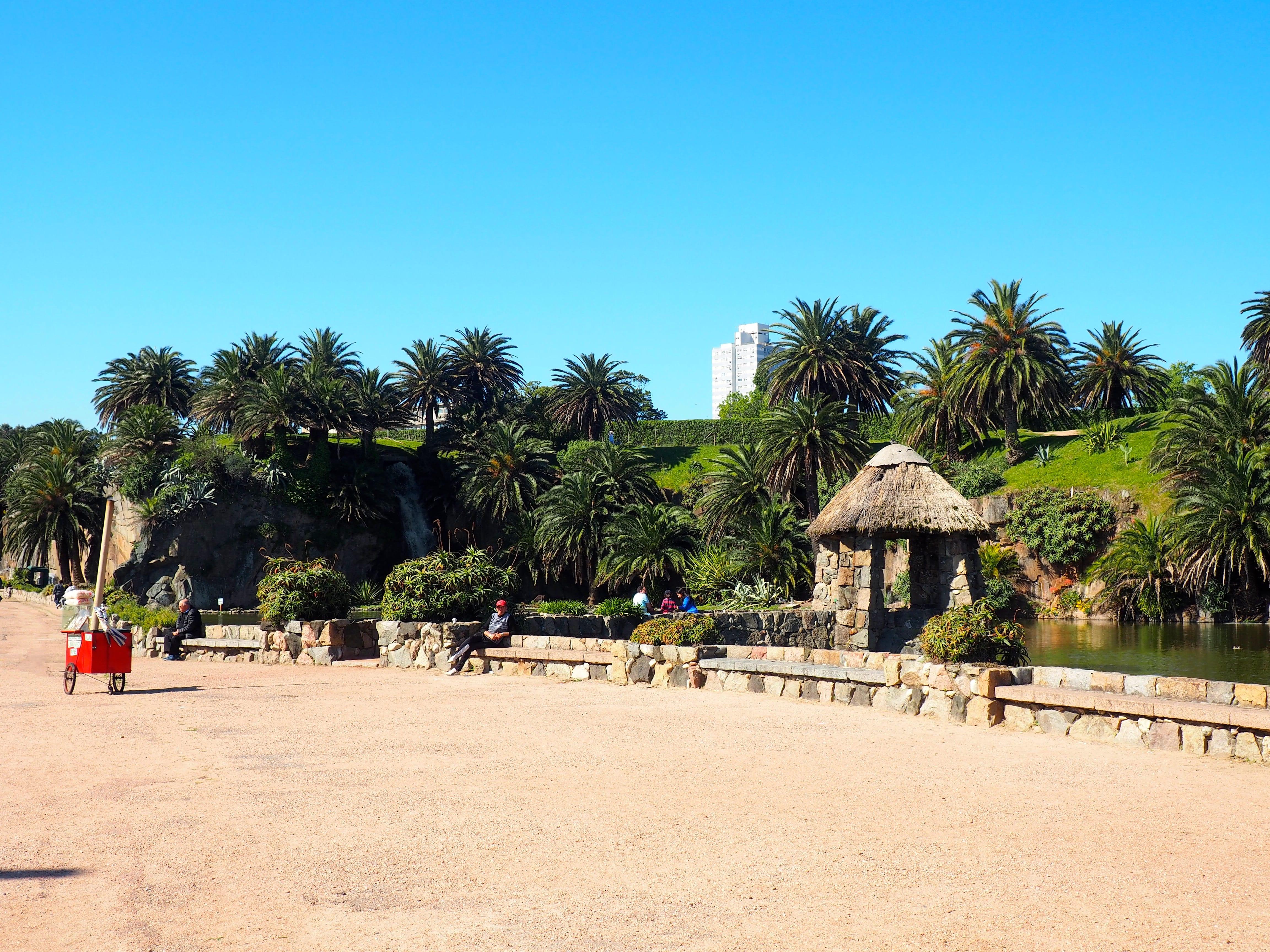 Parque Rodó en Montevideo