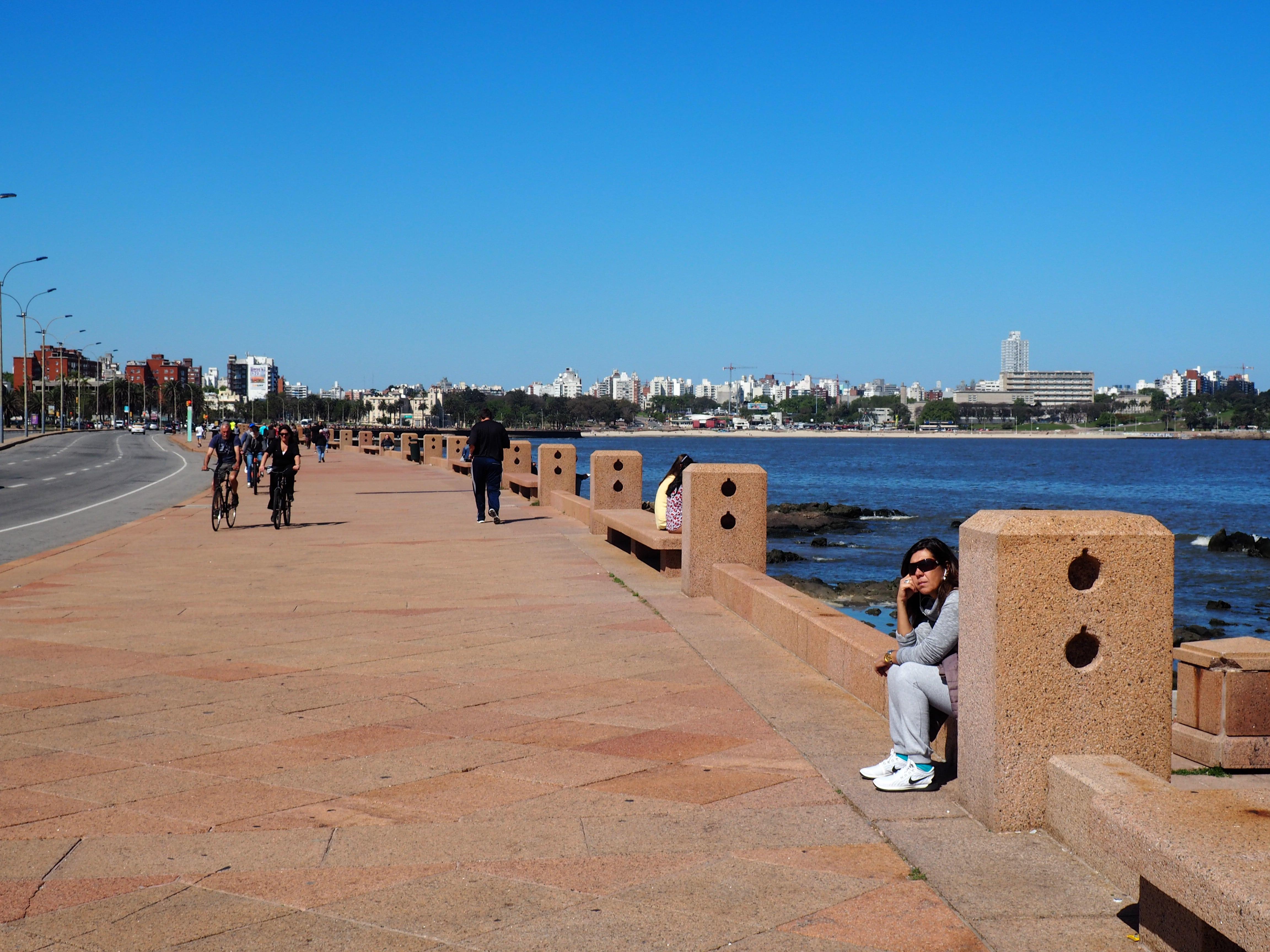 Rambla de Montevideo, pasear aquí es una de las mejores cosas que hacer en Montevideo