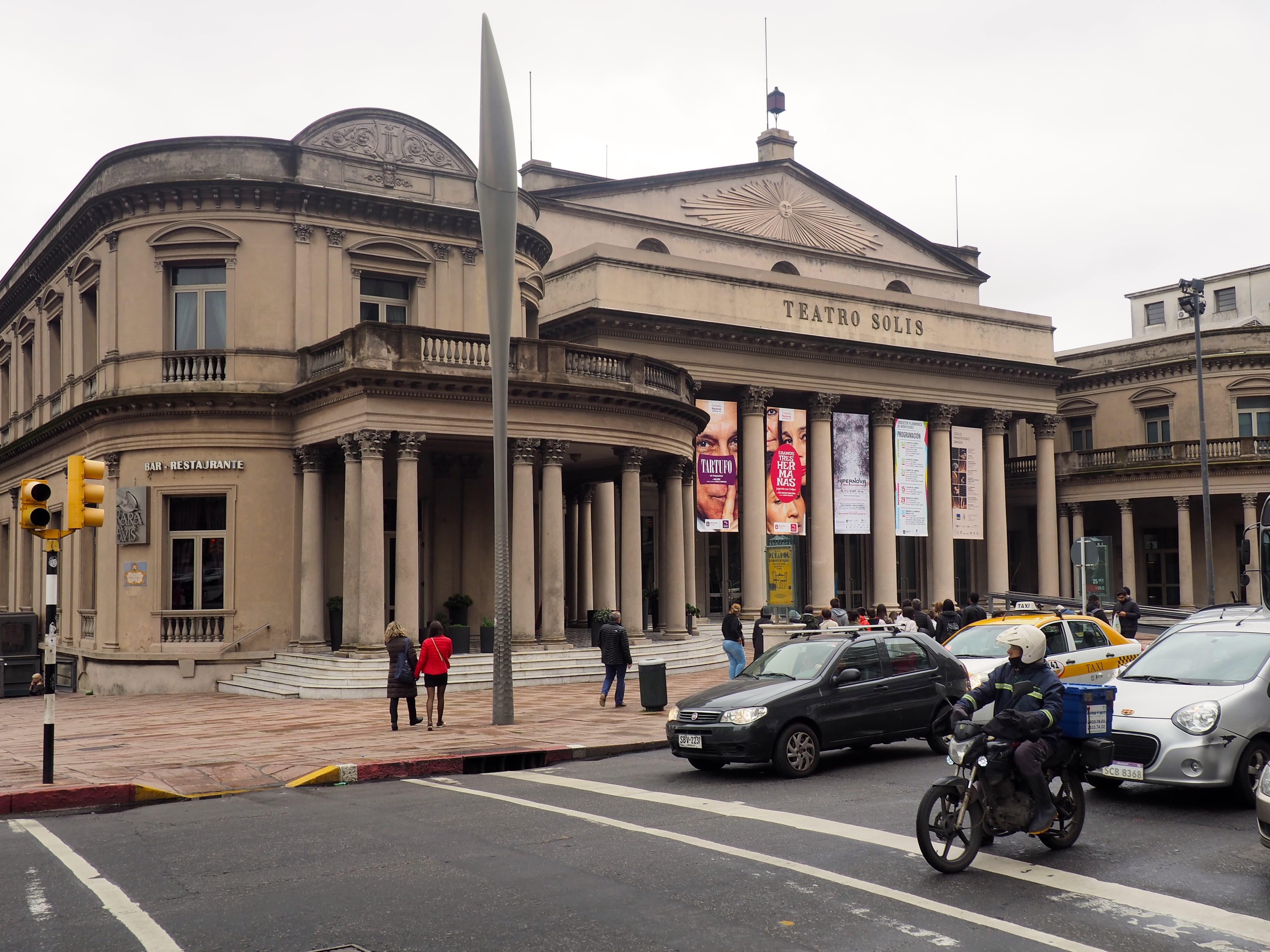 El Teatro Solís de Montevideo