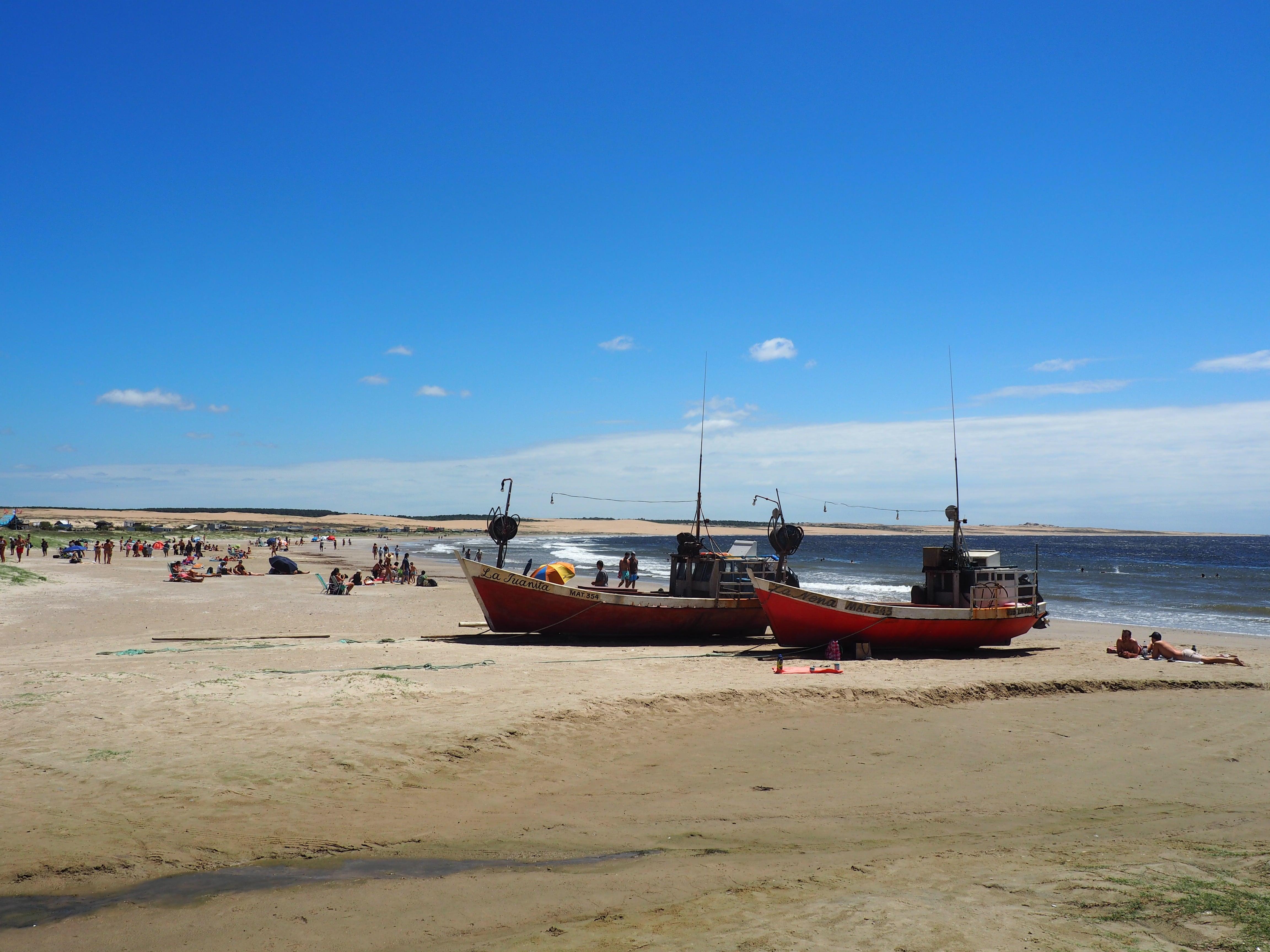 Playas de Uruguay en verano