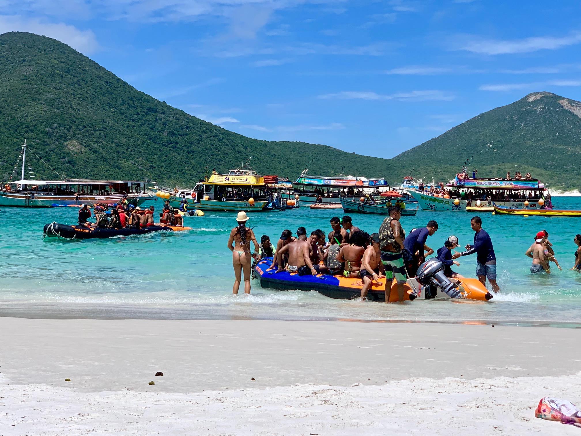 Paseos en Barco en Arraial do Cabo (Brasil)