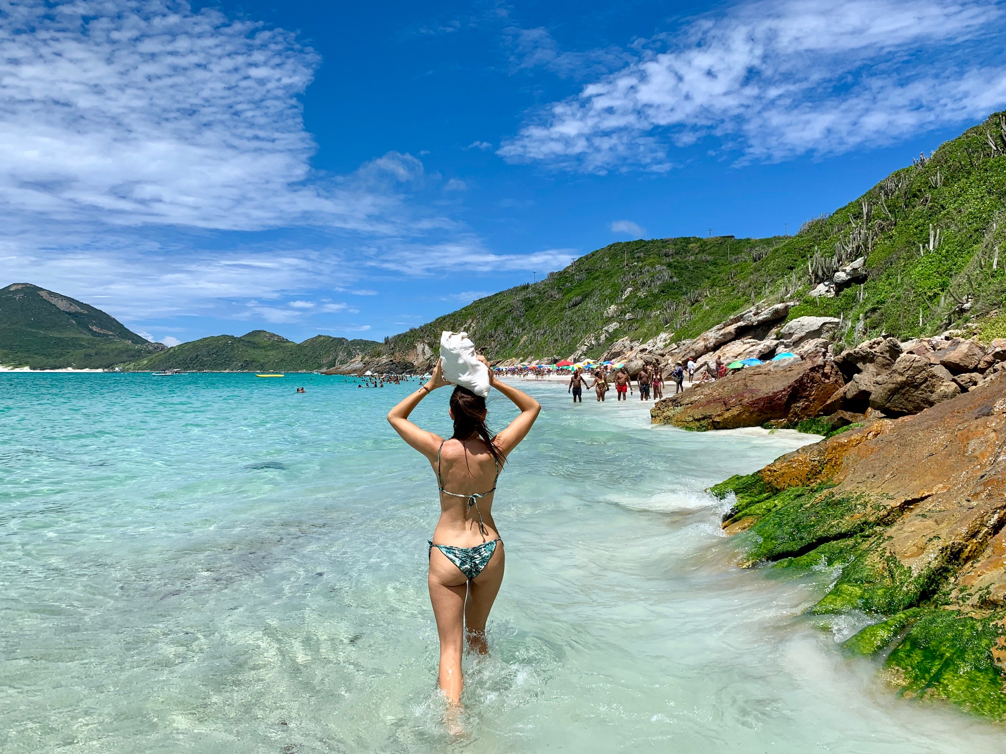 Caminando entre playas en Arraial do Cabo (Brasil)