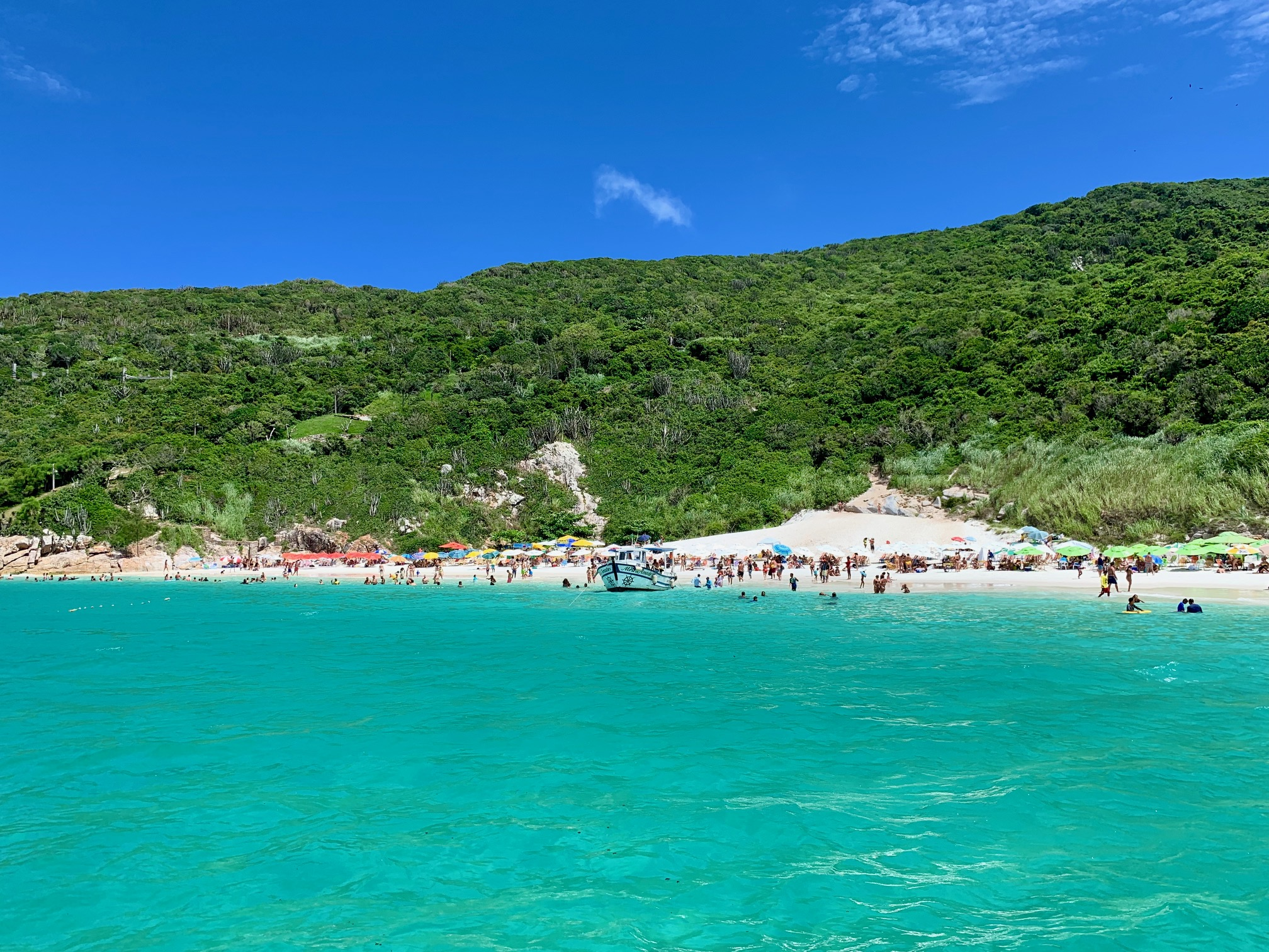 Temperatura del agua en Arraial do Cabo