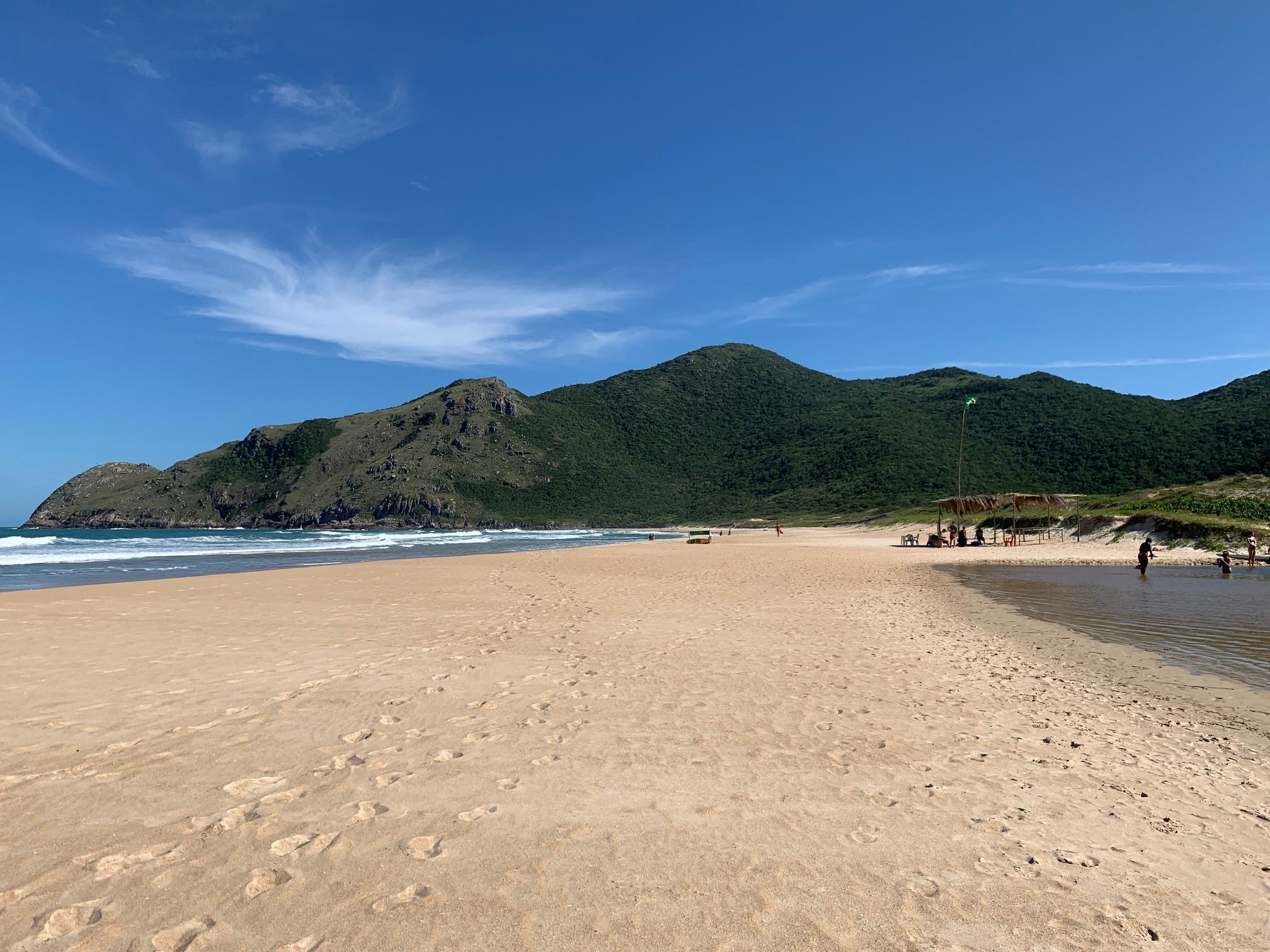 Montaña, lago, mar y playa en Lagoinha do Leste (Florianópolis)