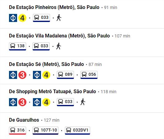 Embu das Artes cómo llegar en bus, metro y tren