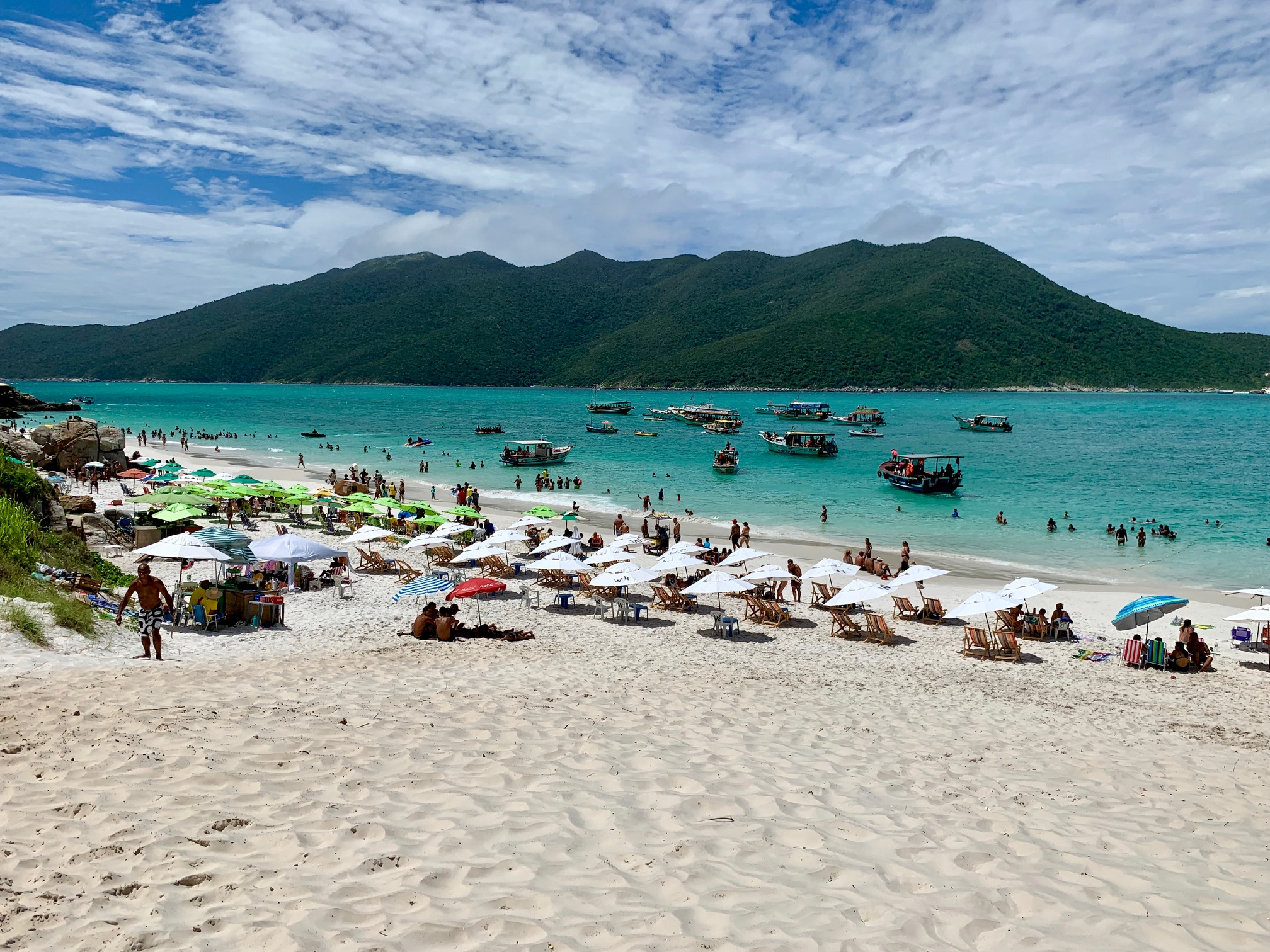 Playas en Arraial do Cabo (Brasil)