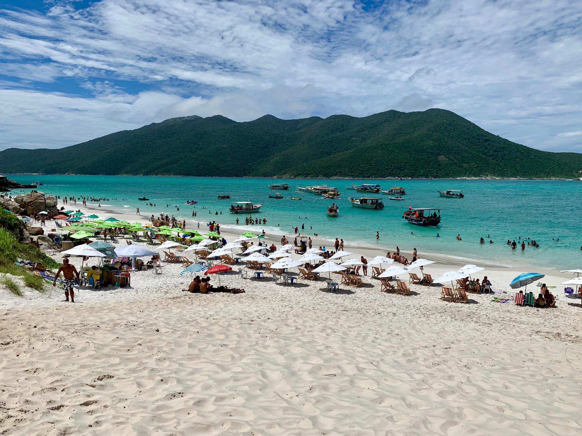 Playas en Arraial do Cabo (Brasil)