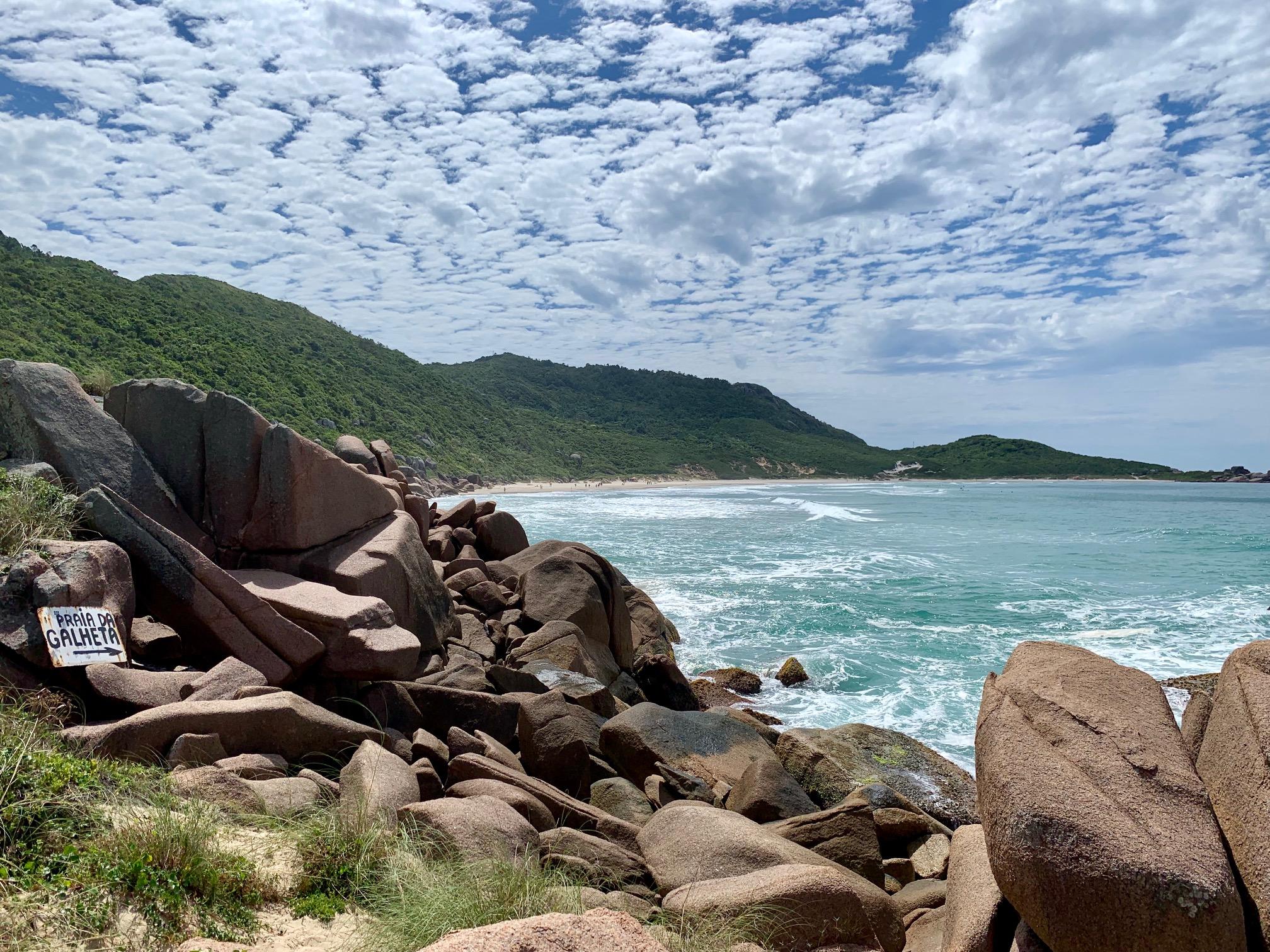 Playa Galheta, mejores playas en Florianópolis (Brasil)
