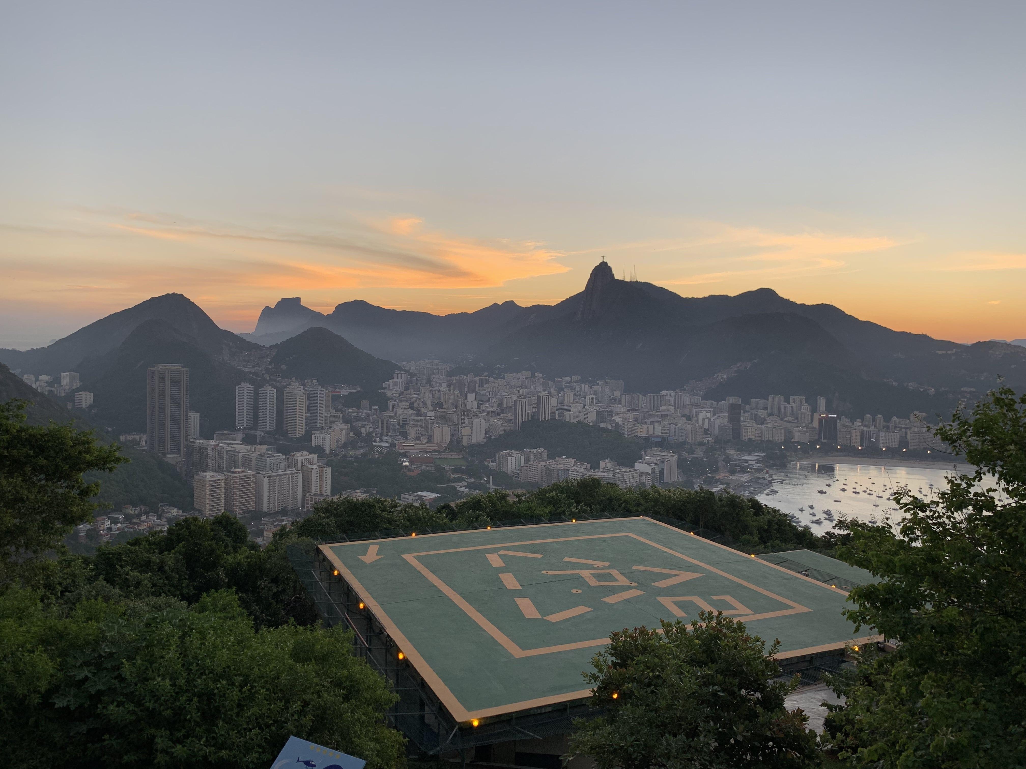Atardecer en el Pan de Azúcar (Rio de Janeiro, Brasil)