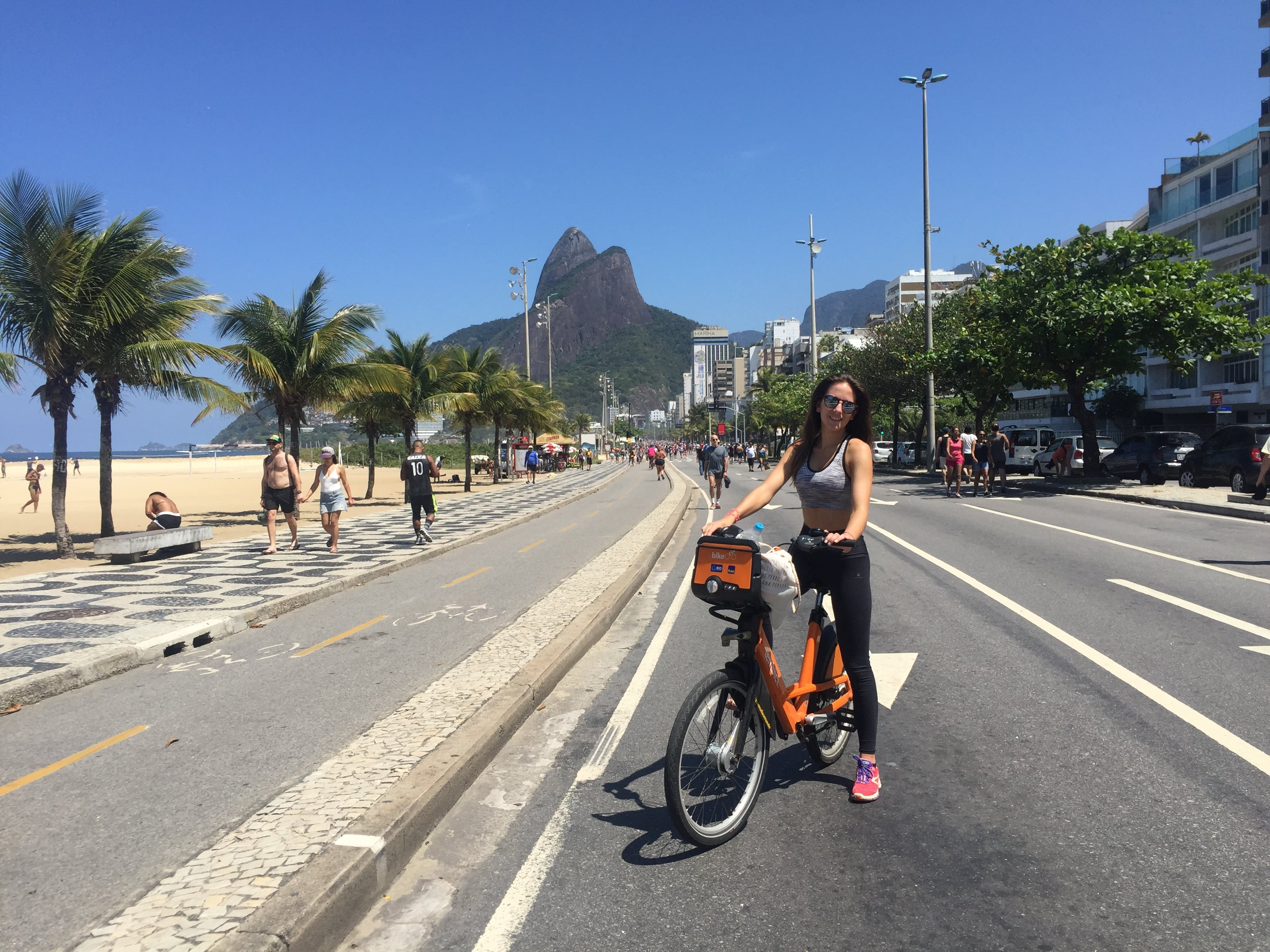 Río en bici