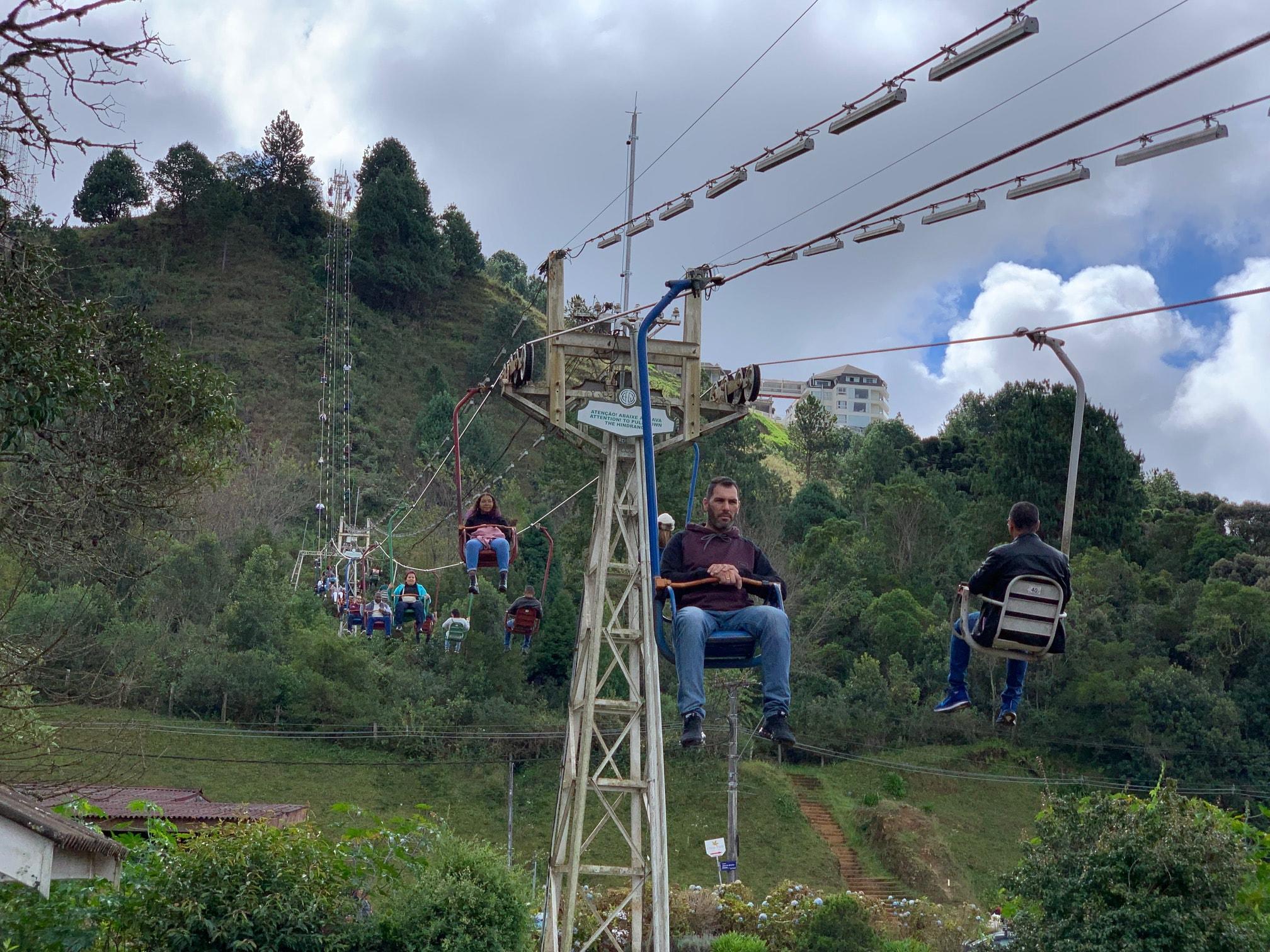 Teleférico al Morro do Elefante