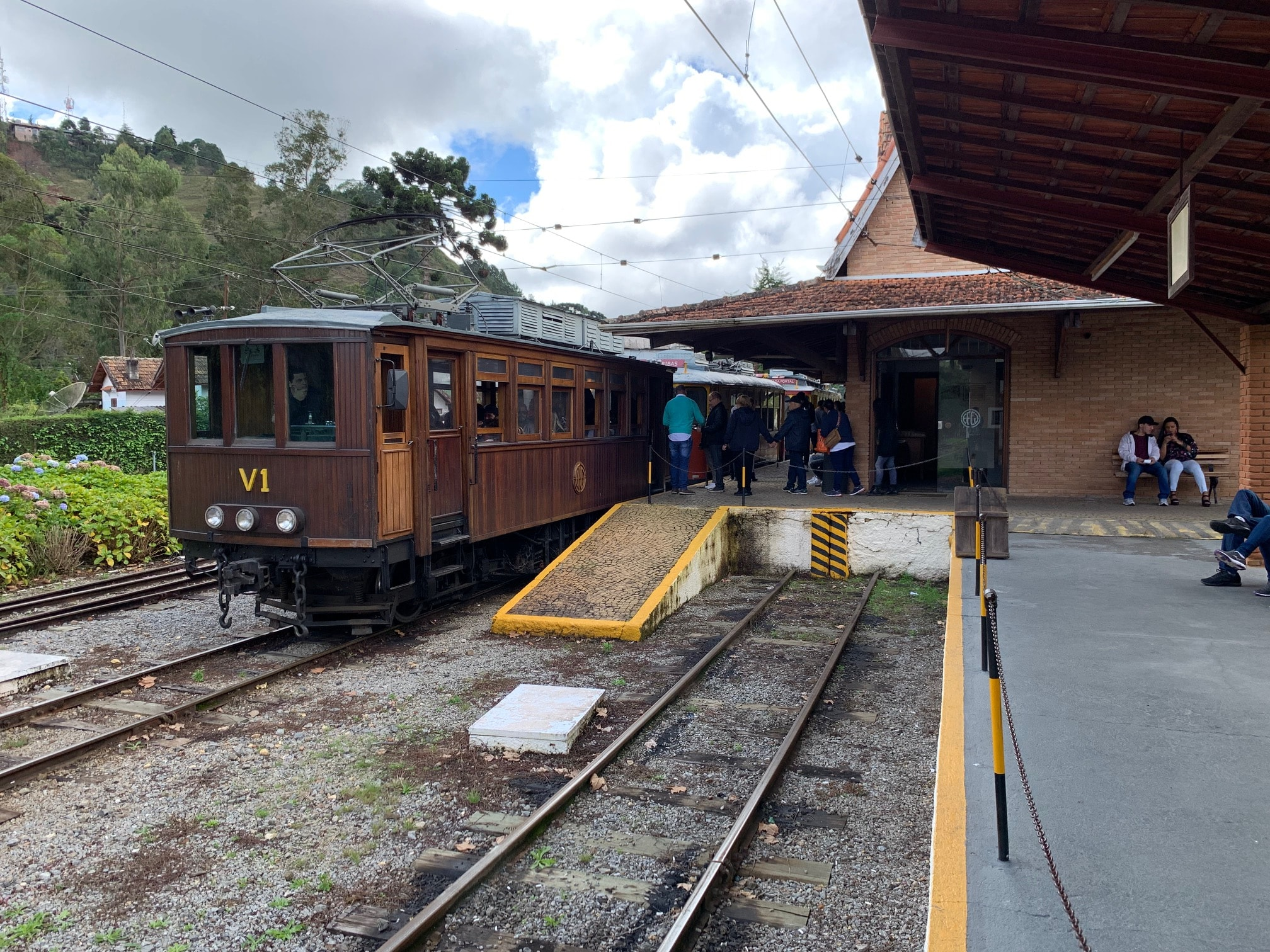 Estación de tren en Capivari