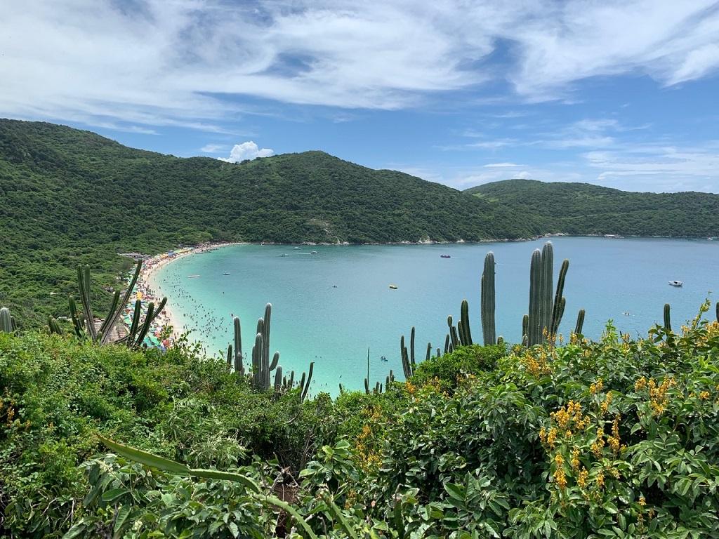 Praia do Forno en Arraial do Cabo (Río de Janeiro, Brasil)