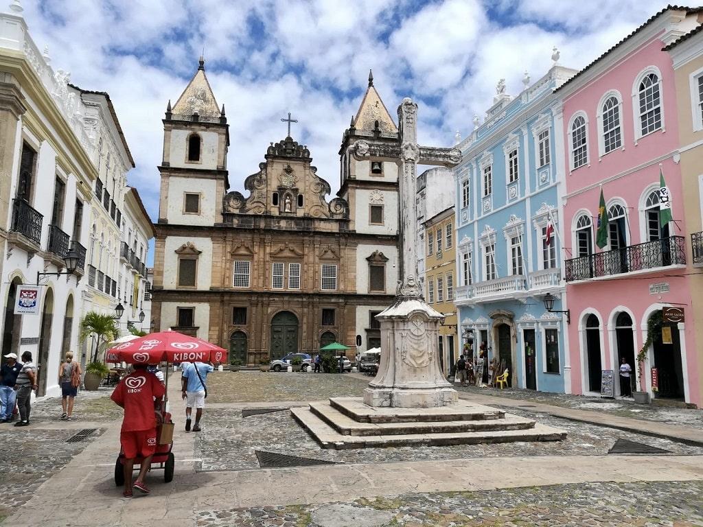 Salvador de Bahía, primera capital de Brasil