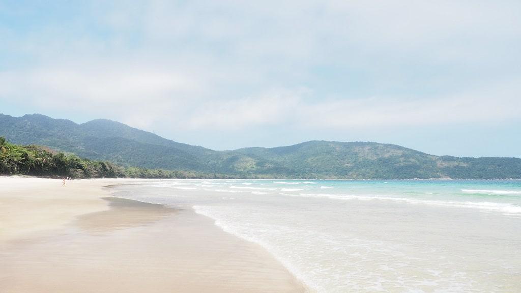 Playa Lopes Mendes, uno de los mejores lugares que ver en Ilha Grande