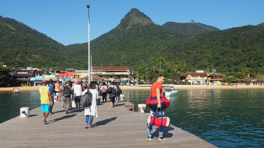 Cómo ir a Ilha Grande desde Paraty