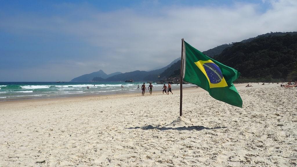 Playa Lopes Mendes (Ilha Grande, Brasil)