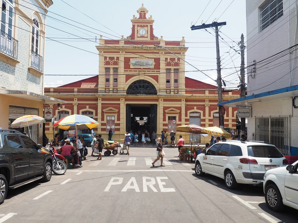 Mercado Adolpho de Lisboa, uno de los lugares que visitar en Manaos