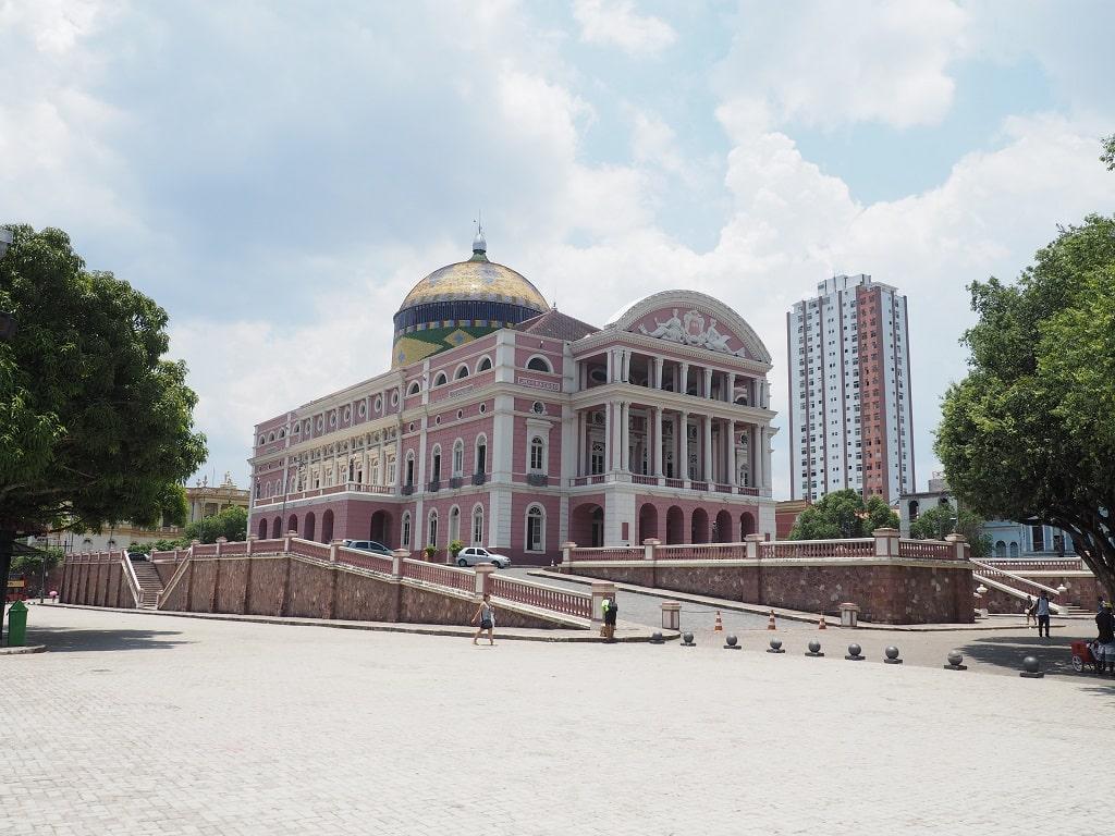 Teatro Amazonas en Manaos (Brasil)