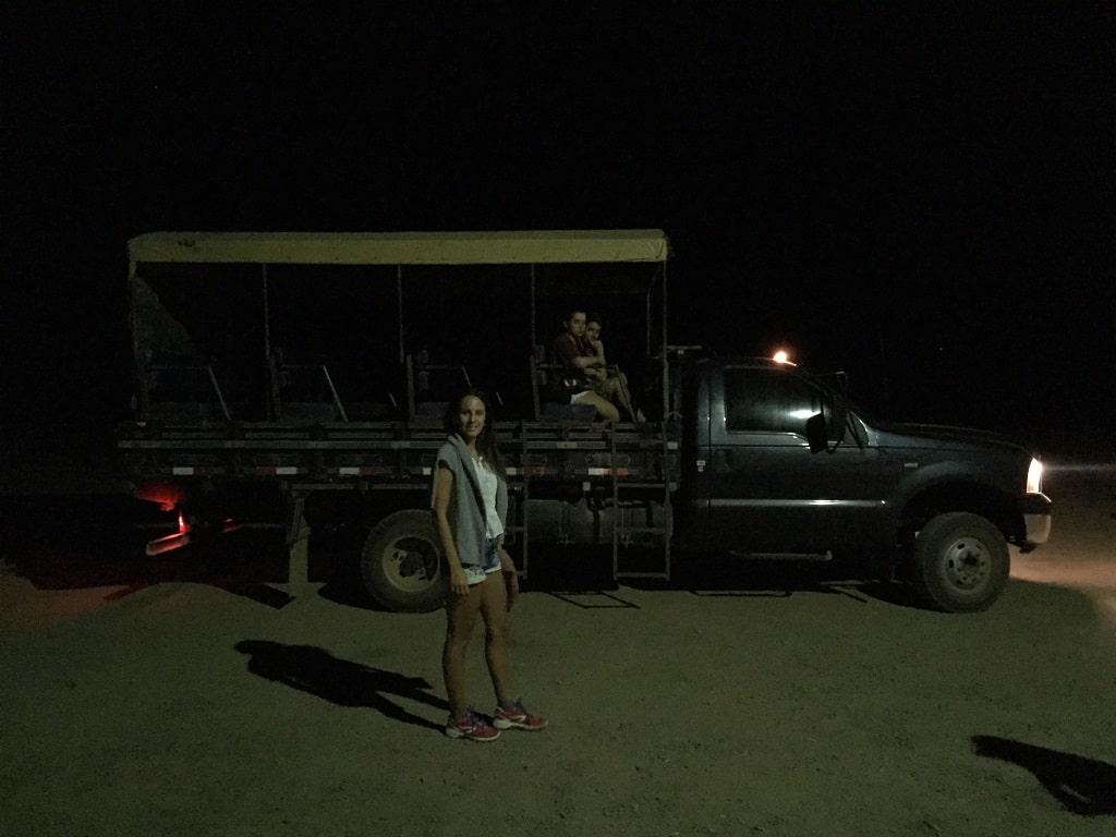 Safari nocturno, de las mejores actividades para ver animales en el Pantanal