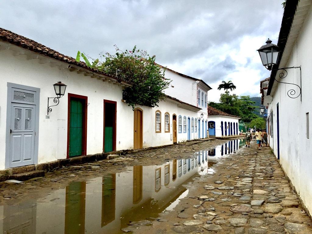 Paraty, uno de los mejores lugares que ver en Brasil en 10 días