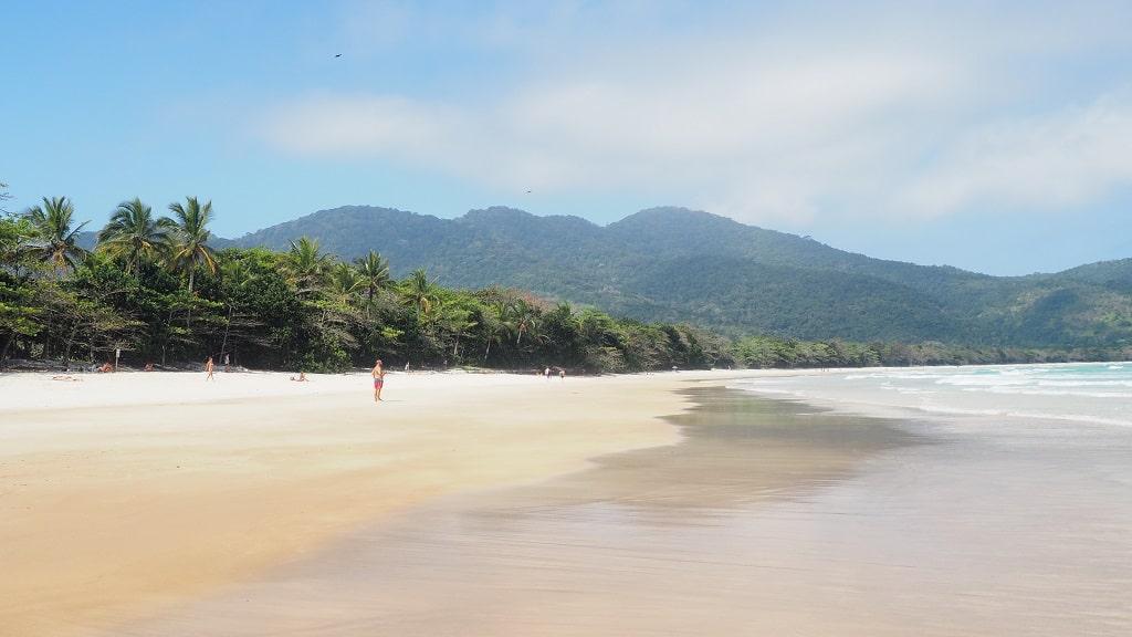 Playa Lopes Mendes, una de las mejores playas de Ilha Grande (Brasil)