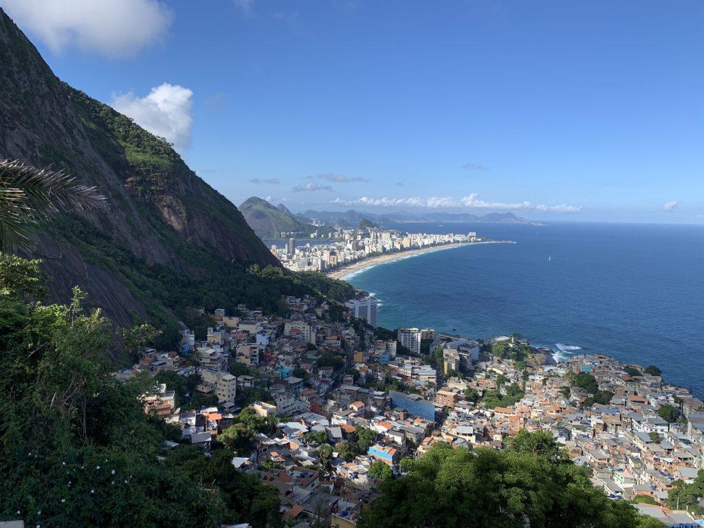 Las favelas, lugares peligrosos para turistas en Brasil