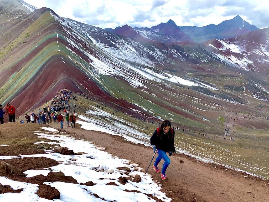 Vinicunca; Montaña Arcoíris o Montaña de los 7 colores