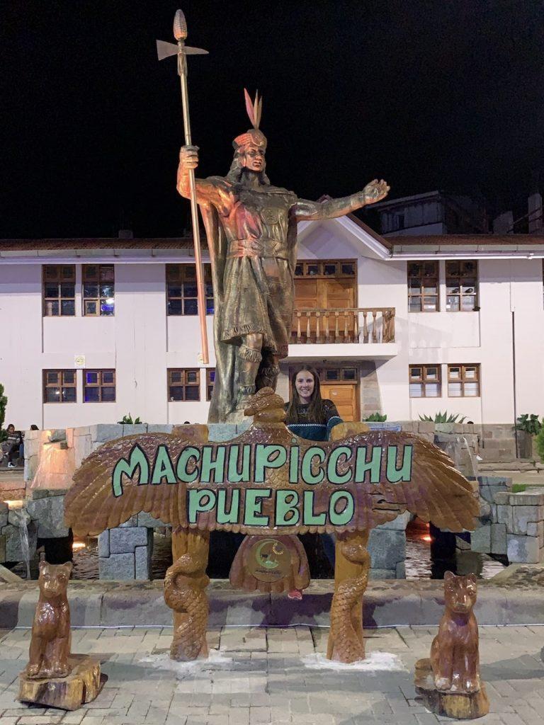 Aguas Calientes o Machu Picchu Pueblo (Perú)