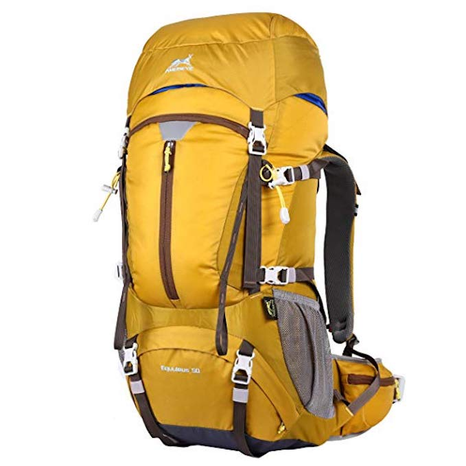 Mejor mochila de viaje de mujer de 50 litros