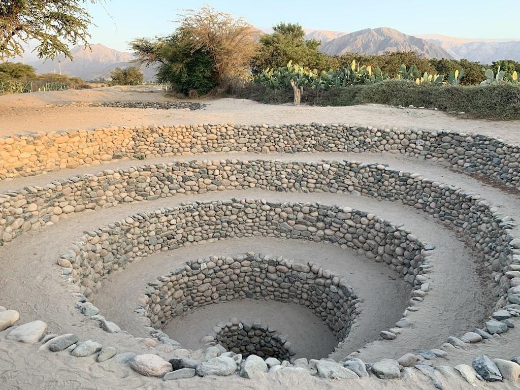 Acueductos de Cantayoc, construidos por la Cultura Nasca
