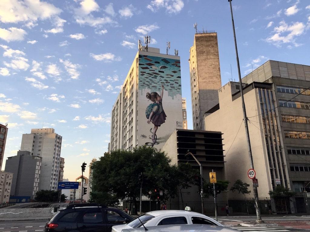 Arte Callejero y grafiti en Brasil