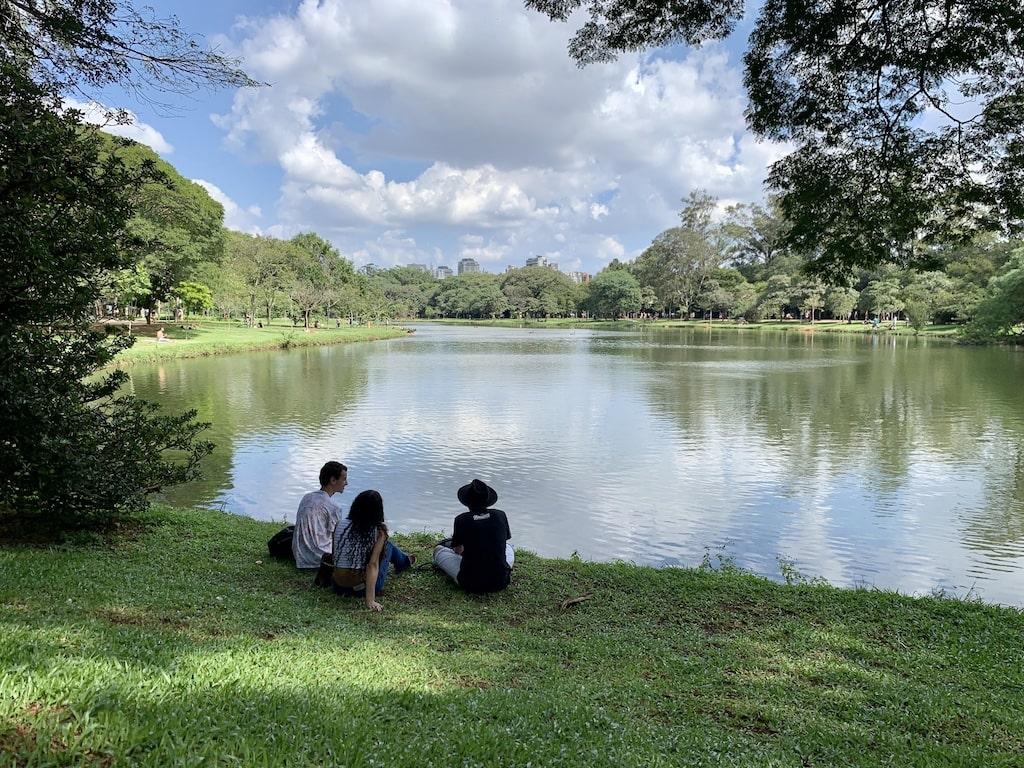El parque Ibirapuera, una de las cosas qué visitar en Sao Paulo