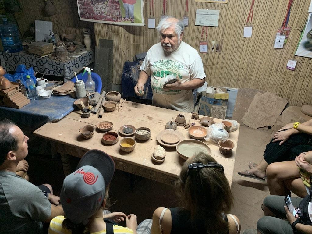Taller de Cerámica en Nazca