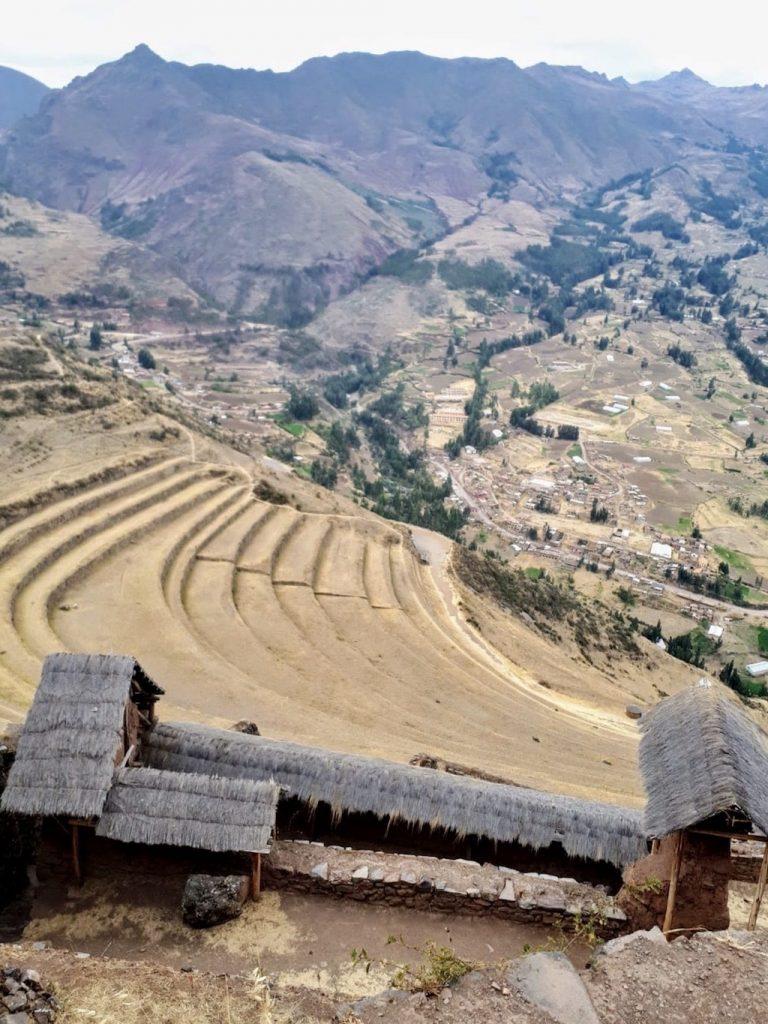 Pisac, en el Valle Sagrado de los Inca (Cuzco, Perú)