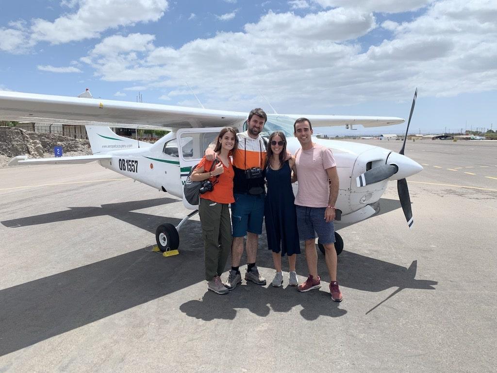 Vuelo sobre las Líneas de Nazca en avioneta