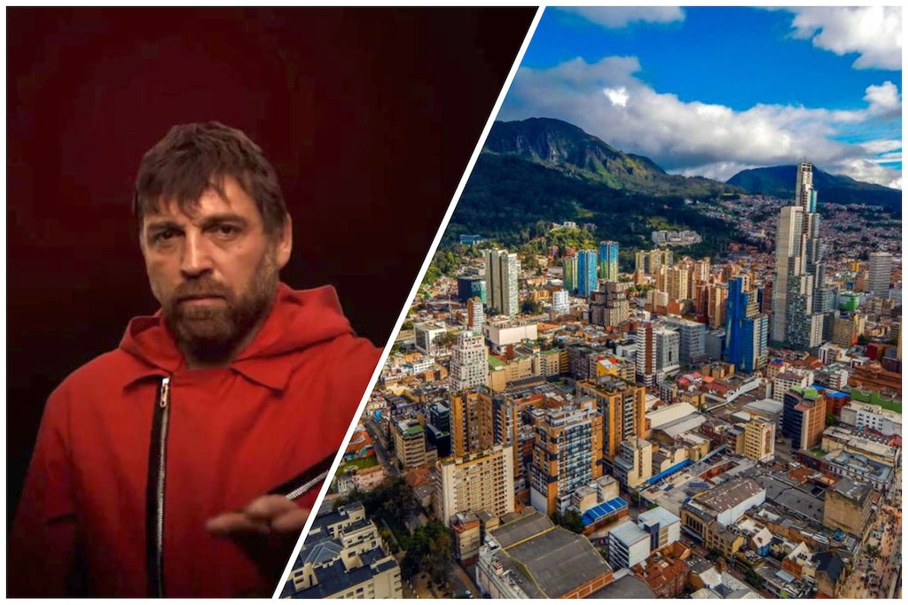 Bogotá ciudad y personaje de La Casa de Papel