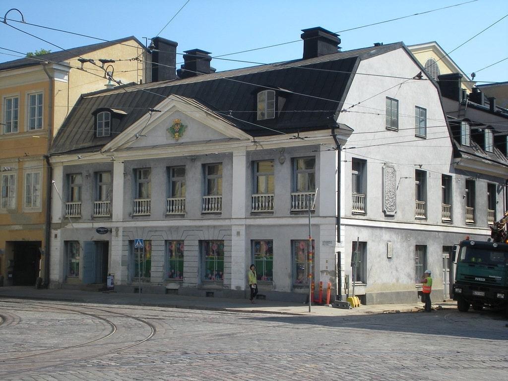 Casa Sederholm, primera casa de piedra en Helsinki
