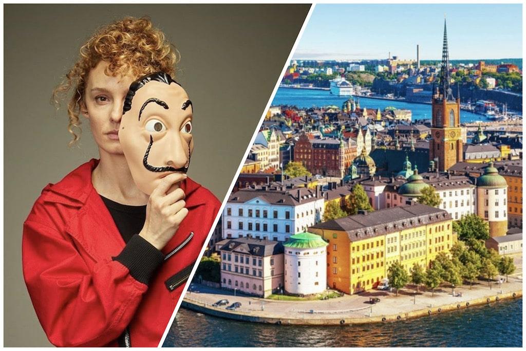 Estocolmo ciudad y personaje de La Casa de Papel
