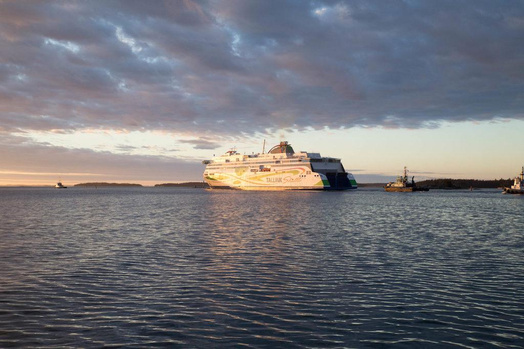 Ferry de Helsinki a Tallin