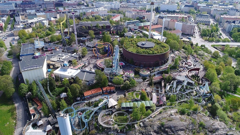 Linnanmaki, el parque de atracciones más famoso de Finlandia