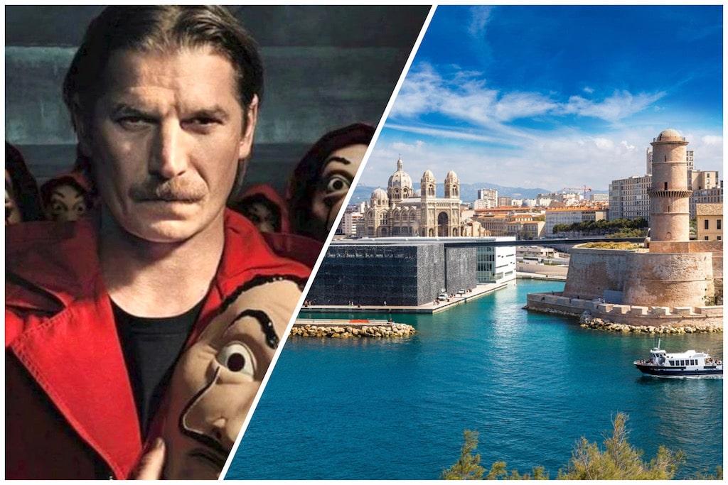 Marsella ciudad y personaje de La Casa de Papel