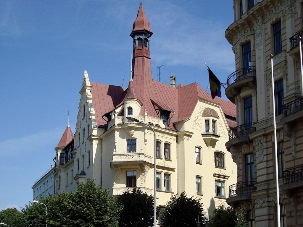 Arquitectura Art Nouveau en Riga (Letonia)