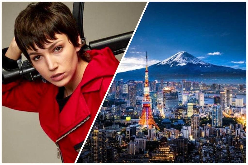 Tokio ciudad y personaje de La Casa de Papel