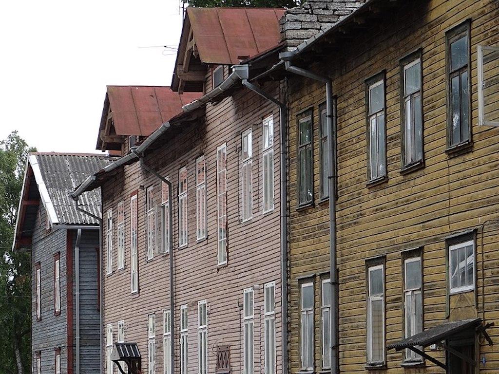 Barrio Kalamaja de Tallin