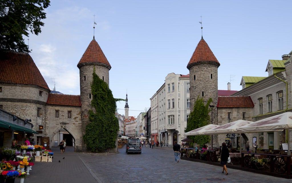 Tallin capital de Estonia
